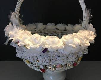 Bridal/Flower Girl Basket