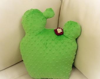 Cactus Pillow, Saguaro Cactus Pillow, Prickly Pear, Toy Pillow, 3D Pillow, Stuffed Animal, Beach House Decor