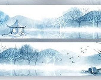Landscape washi tape