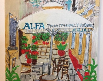 The Plaka, Athens - Greece