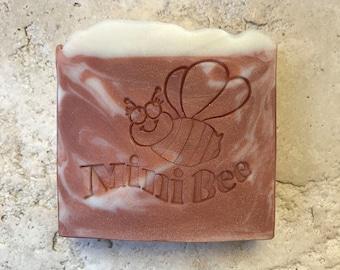 MEDITATION Shea Butter Soap with Silk, Handmade Soap, Cold Process Soap, Moisturizing
