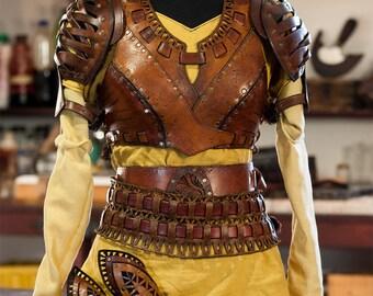 """Female corset """"Dorne full set"""""""