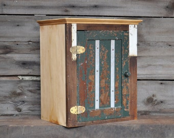 Reclaimed Wood Furniture Bathroom Cabinet Bohemian Furniture Rustic Furniture Bathroom Storage Cabinet Architectural Salvage Rustic Cabinet