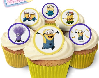 Minion Cake Decorations Uk : Minion cake topper Etsy