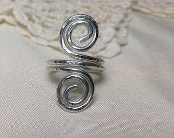 Spiral Ring Size 6
