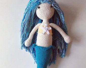 Crochet 'Lorelei' Mermaid