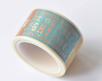 Colorful Quote Love It Joy Smile Washi Tape 25mm Wide x 5M Roll  No.12465