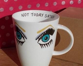"Bianca del Rio ""Not Today Satan"" mug - Rupaul's Drag Race"