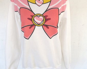 Sailor Moon Sweatshirt Small S Collectible Memorabilia