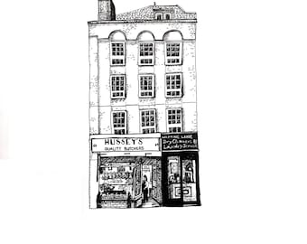 Hussey's Butchers, Wapping, London