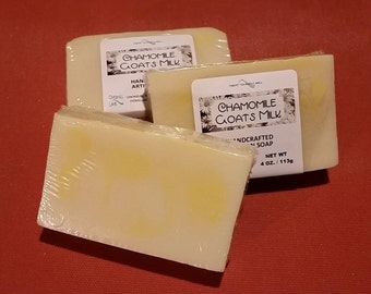 Chamomile Goats Milk ~ Artisan Cold Process Soap