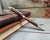 Mechanical Pencil - Whiskey Barrel Wood - Lead Pencil - Wooden Gift - Wood Gift - Wooden Pen - Wood Pen - Gifts For Him - Gifts For Writers