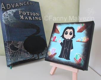 Severus Snape (Harry Potter) - Small painting