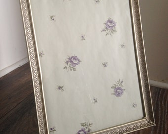 Large Vintage Picture Frame, Easel Back or Wall Hanging