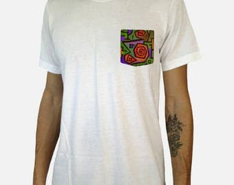 Heroic Roses Pocket Shirt (Paul Klee)