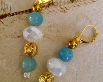 Blue Mist ~ Dangle Earrings