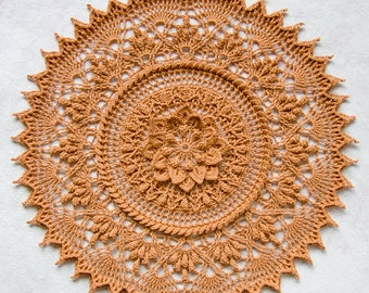 Crochet doily pattern ALYA, Instant download