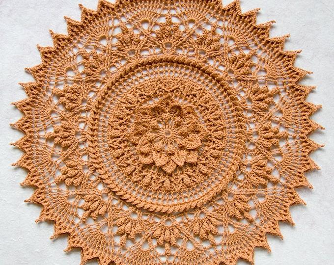 Crochet doily pattern ALYA