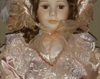 """Vintage Seymour Mann 22"""" Porcelain Doll """"Charlotte"""" The Connoisseur Collection"""