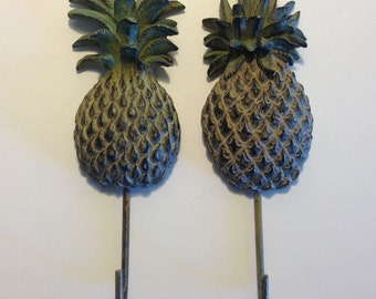 Pineapple Key Hook Pineapple Towel Hook Rack Pineapple Wall Decor