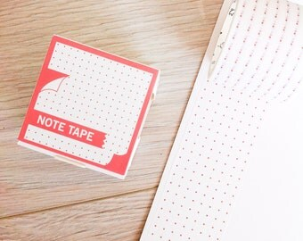 Cute washi tape - note tape #1 | Cute Stationery