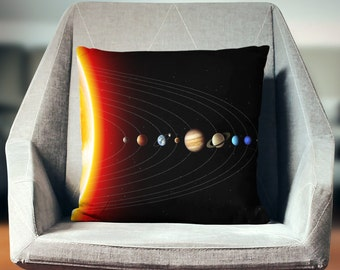 Solar System Decor   Space Decor   Cool Gifts   Planet Pillow   Planets Gift   Space Pillow   Space Gifts   Solar System Decor