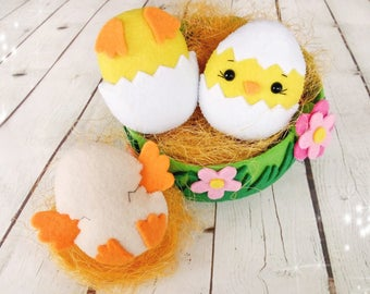 Easter decorations sheep gifts for friends farm animals lamb easter chick in egg ornaments easter gifts for children birthday decorations easter eggs personalized nursery decor negle Images