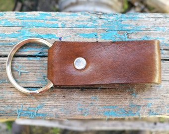 Custom Leather Keychain keyfob, Personalized Leather keyfob, Coordinates keyfob, Latitude Longitude GPS Key Fob, Engraved Keychain keyfob
