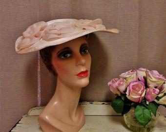 Vintage Hat, c1950s;Vintage Picture Hat;1950s Hat