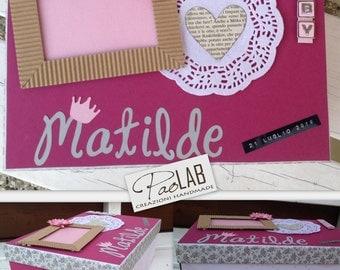Memory box for children, gift idea birth, baptism, baby showers, personalized, keepsake box, memories.