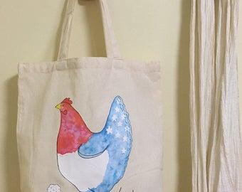 Patriotic Hen Tote Bag Fundraiser