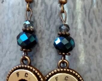 Bullet Dangle Earrings