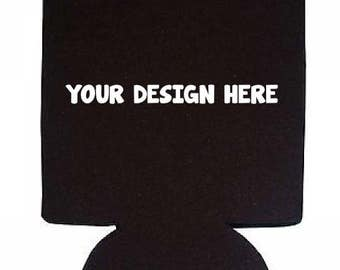 Customizable 12 oz. Can Holders for Sports Teams, Companies, Personal, Schools, etc.