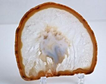 Reiki Charged Agate Crystal Slice