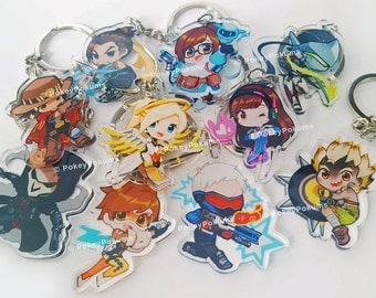 "Overwatch 2"" Double-sided Acrylic Charms"