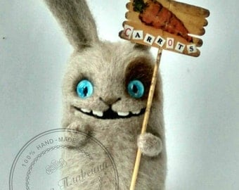 Charismatic Hare. Hare of wool