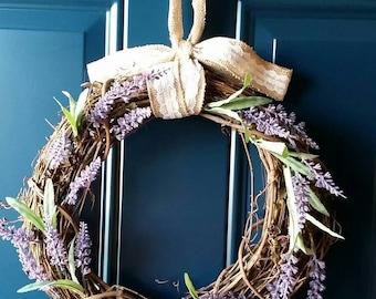 Lavender Dream Wreath