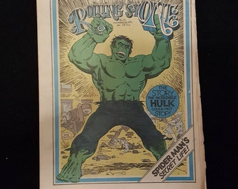 Rolling Stone Magazine #91 16/9-1971 The incredible Hulk.
