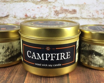 """CAMPFIRE  Candle 