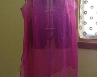 Pink Ombre Goddess Gown - Bust 49 - 57 inches