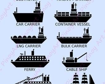 Ship Clip Art,Ship Clip Art, Ships Clip Art,Ship Clipart, Vessel Clip Art,Ship Vector,Ship Template,Ship Silhouette Clip Art,ship svg