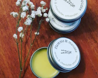 Lip balm lip moisturizer/Lily/natural/butter/lips/essential oil / flowers/organic/petrol