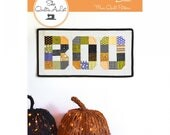 Quilting Fun (Quilt Pattern):  BOO!  Design by Peta Peace
