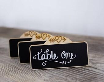 Personalized Arrow Heart Wedding Chalkboard Signs, Table Numbers, Rustic Wedding Chalkboard Sign, Custom Wedding Sign, BLANK Chalkboards