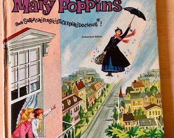 Walt Disney's Mary Poppins, She's Supercalifragilisticexpialidocious, Whitman Tell-A-Tale 1963