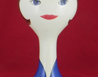 wig/hat stand from Hiatt House Pottery