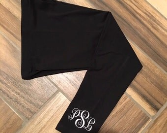 Monogrammed Leggings Girls leggings womens leggings kids leggings monogram leggings monogram pants