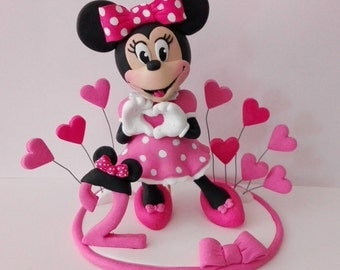 cake topper cake decor Minnie Mouse ,topolina