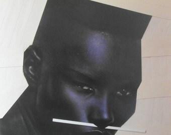 Original 1983 Grace Jones 'My Jamaican Guy' Promotional Poster.