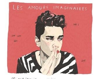 "Xavier Dolan/ Heartbeats film/ Les amours imaginaires - 20'' x 24"" Giclée print - limited edition"